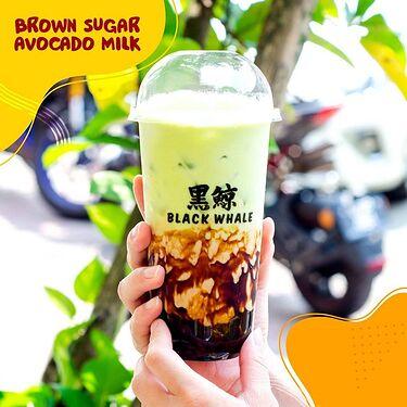 Brown sugar Avocado Milk