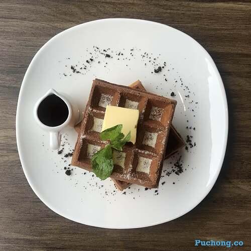 souffle-dessert-cafe-puchong-jaya-waffle-classic