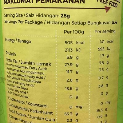 potato-crips-mister-potato-nutrition-information