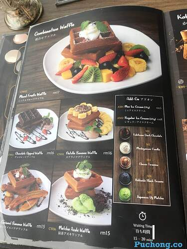 souffle-dessert-cafe-puchong-jaya-waffle-menu