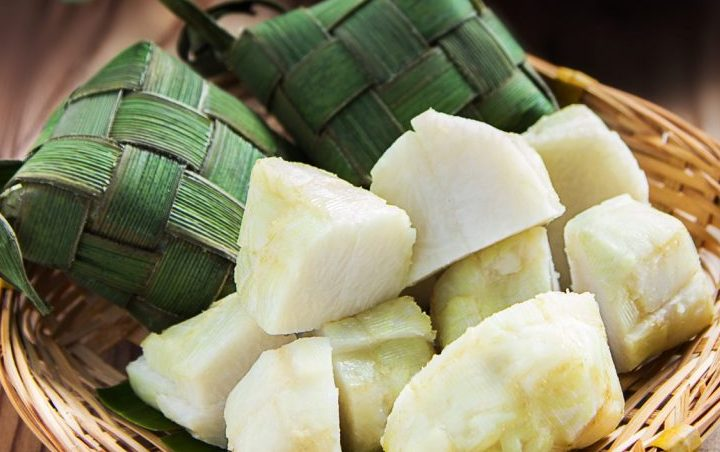 Ketupat (Compressed Rice Cakes)