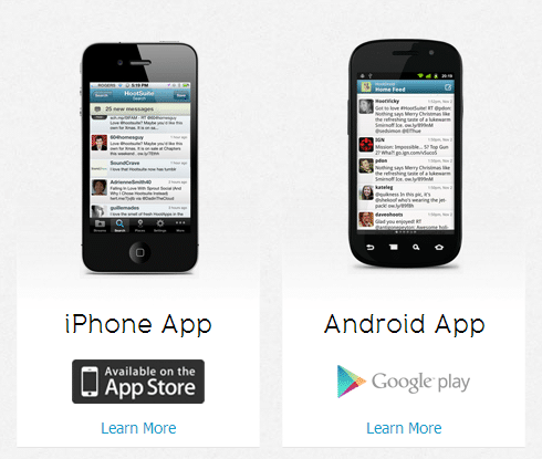 hootsuite mobile apps