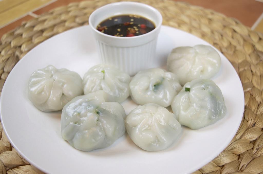 Steamed chive dumplings
