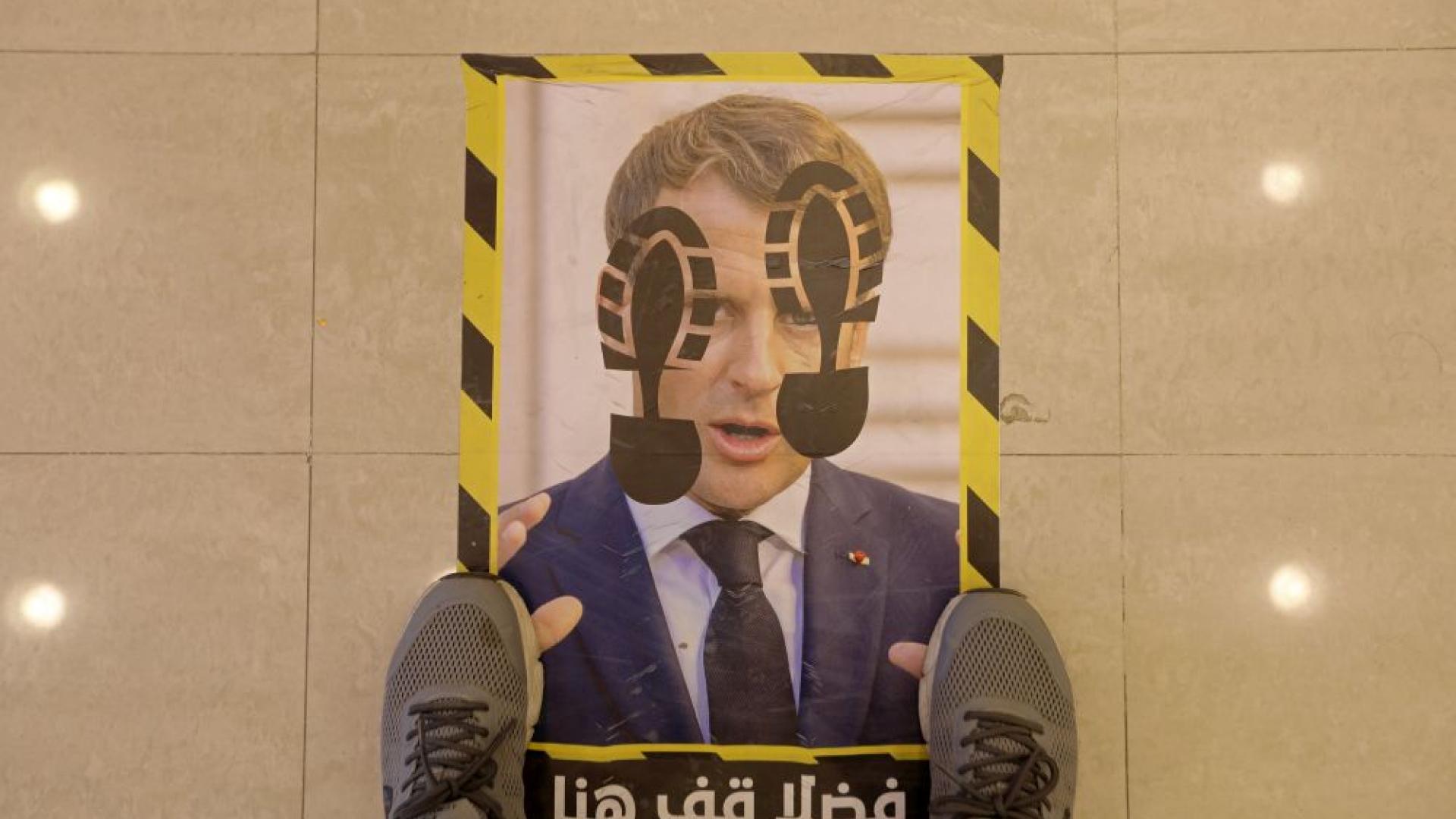 macron_protest_libya