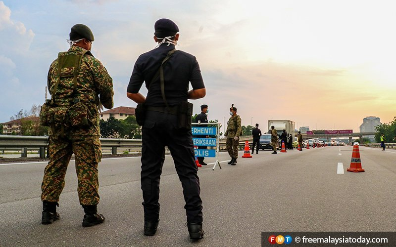 Military-Soldiers-Angkatan-Tentera-Malaysia-PDRM-Roadblocks-Shah-Alam-MCO-Covid19