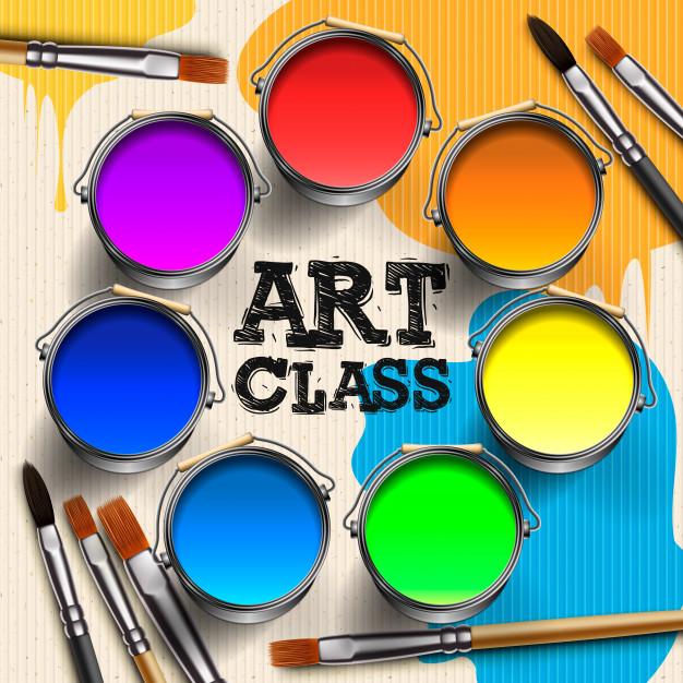 art-class-workshop-template-design-kids-art-craft-education-creativity-class-concept-illustration_155957-74