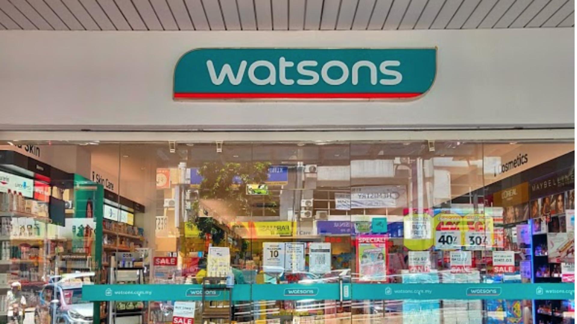 Watsons @ Bandar Puchong Jaya